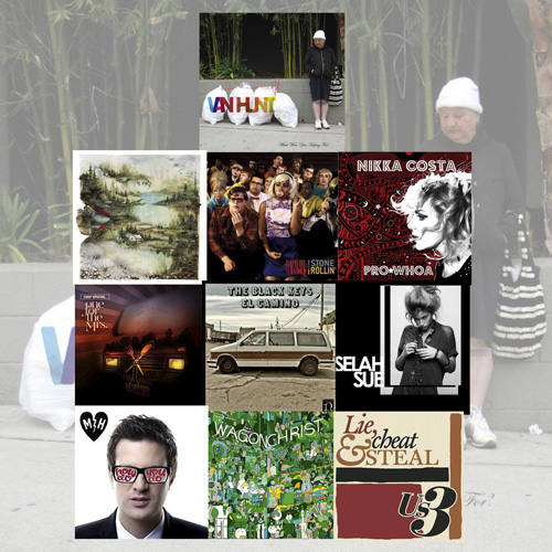 De Tien Beste Albums van 2011