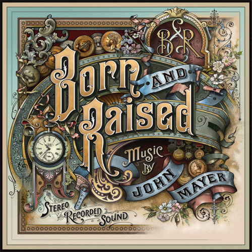 John Mayer's Born and Raised (2012): Fantastische hoes, saaie middle-of-the-road muziek