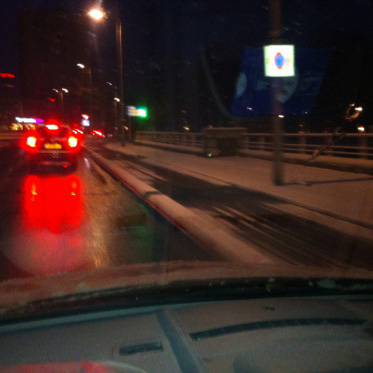 Winterweer in Leeuwarden