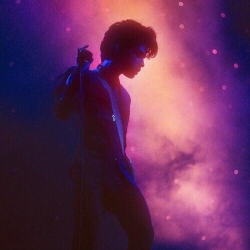 Prince in Ahoy, iconische foto