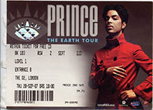Prince – The Earth Tour @ O2 Arena Londen 20 september 2007