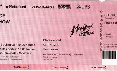 Prince Live In Montreux 18 juli 2009